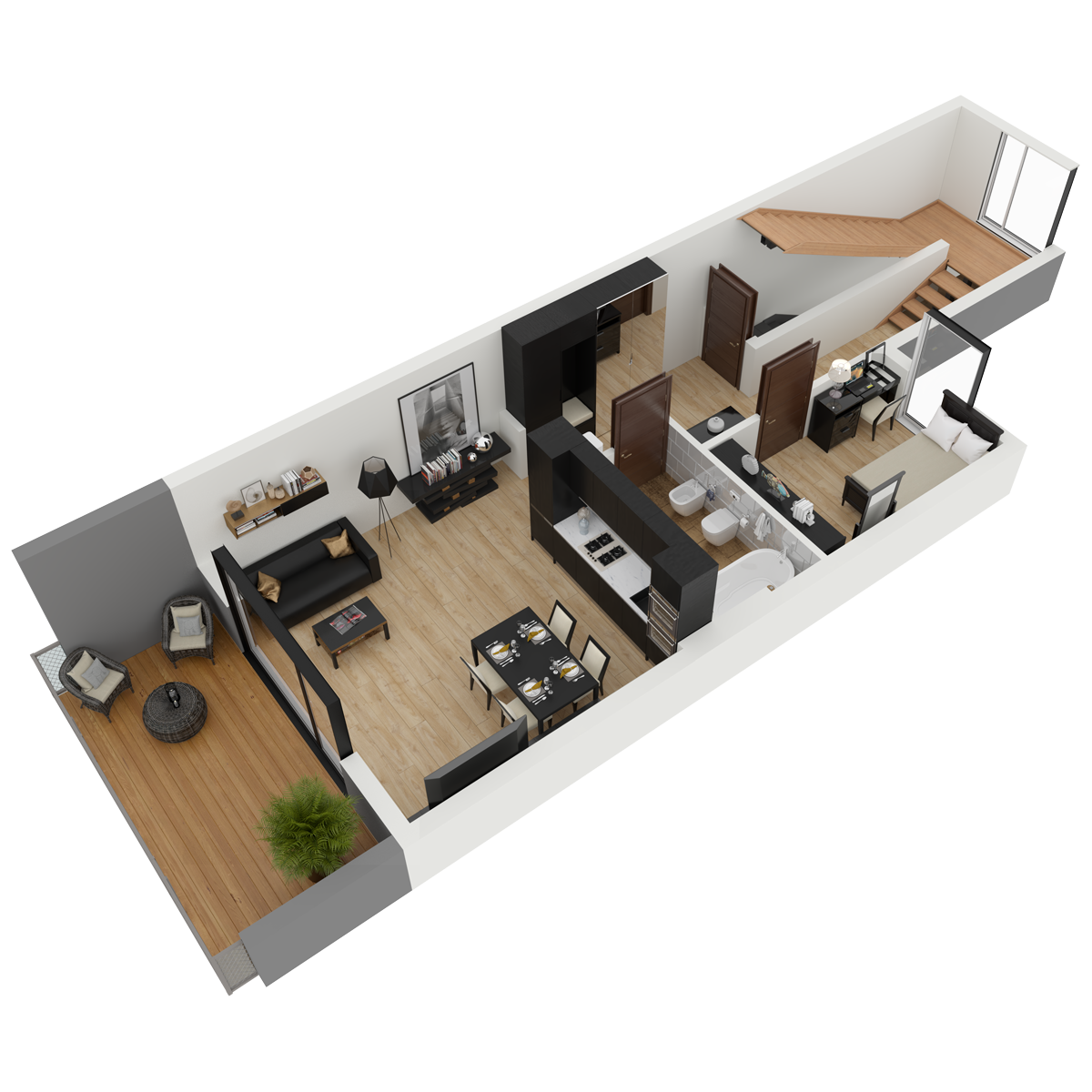 Mieszkanie nr 18 (segment: I / piętro)